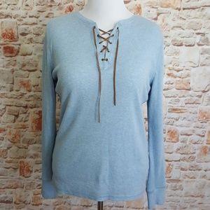 Lauren Ralph Lauren Jeans Blue Top